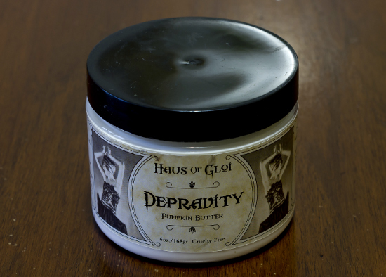 haus of gloi depravity pumpkin butter