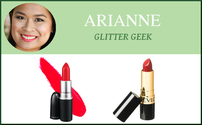 arianne fave red lipsticks
