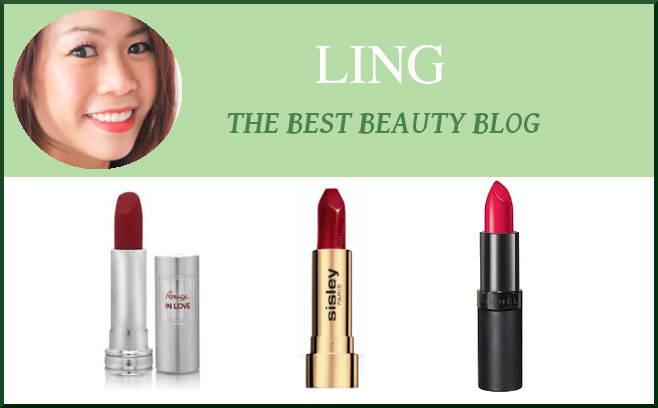 ling fave red lipsticks
