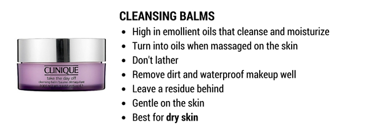 cleansing balms: best cleansers for dry skin and makeup removal
