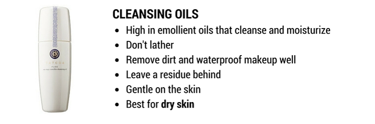 cleansing oils: best cleansers for dry skin and makeup removal