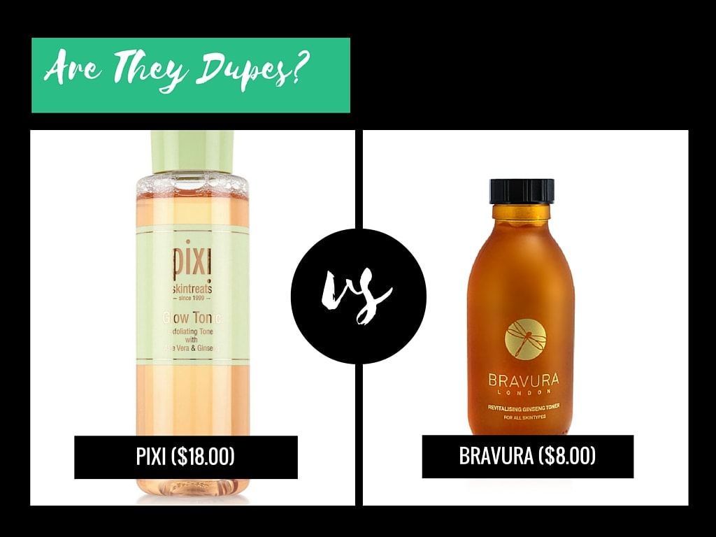 a dupe for pixi glow tonic
