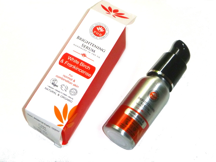 phb brightening serum white birch frankincense 01