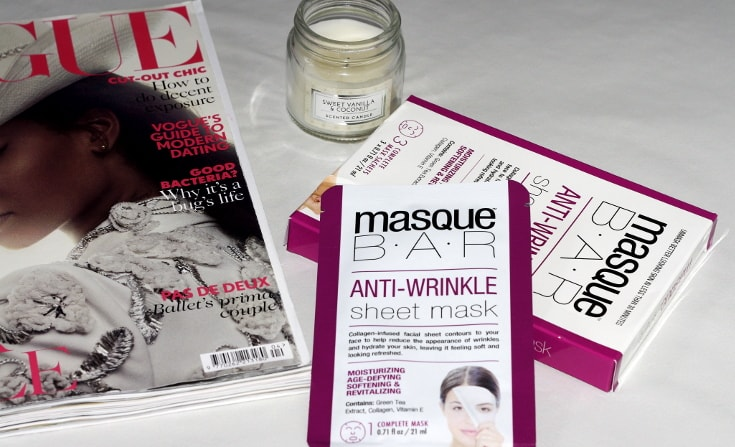 masque bar anti-wrinkle sheet mask
