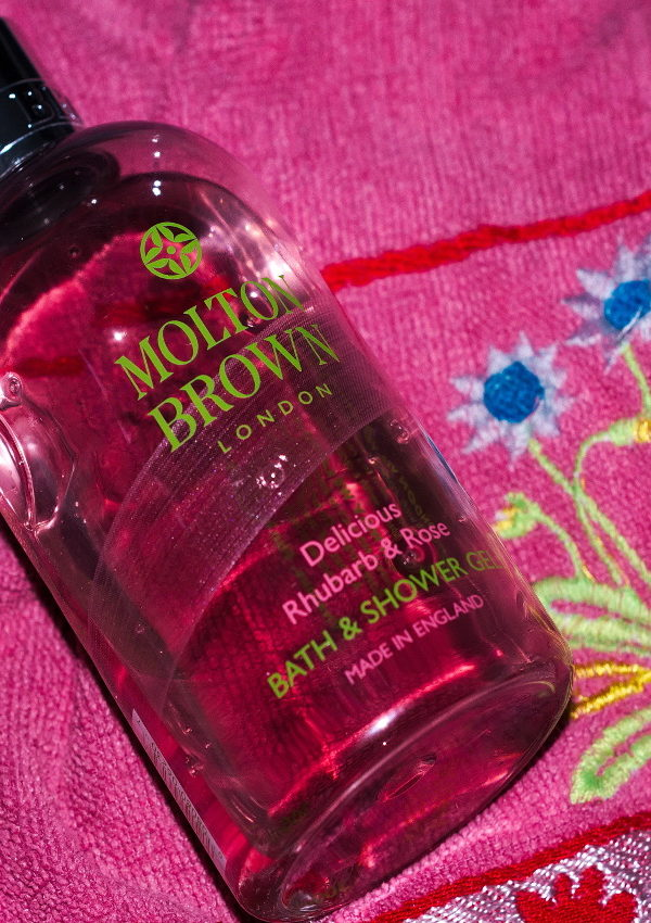 I Can't Get Enough Of Molton Brown Delicious Rhubarb & Rose Bath & Shower Gel
