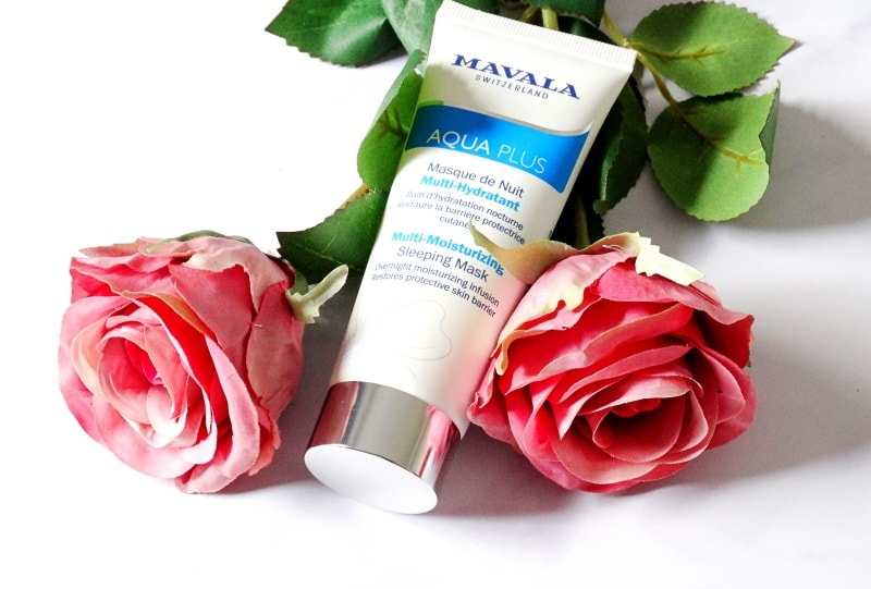 mavala hydra plus sleeping mask
