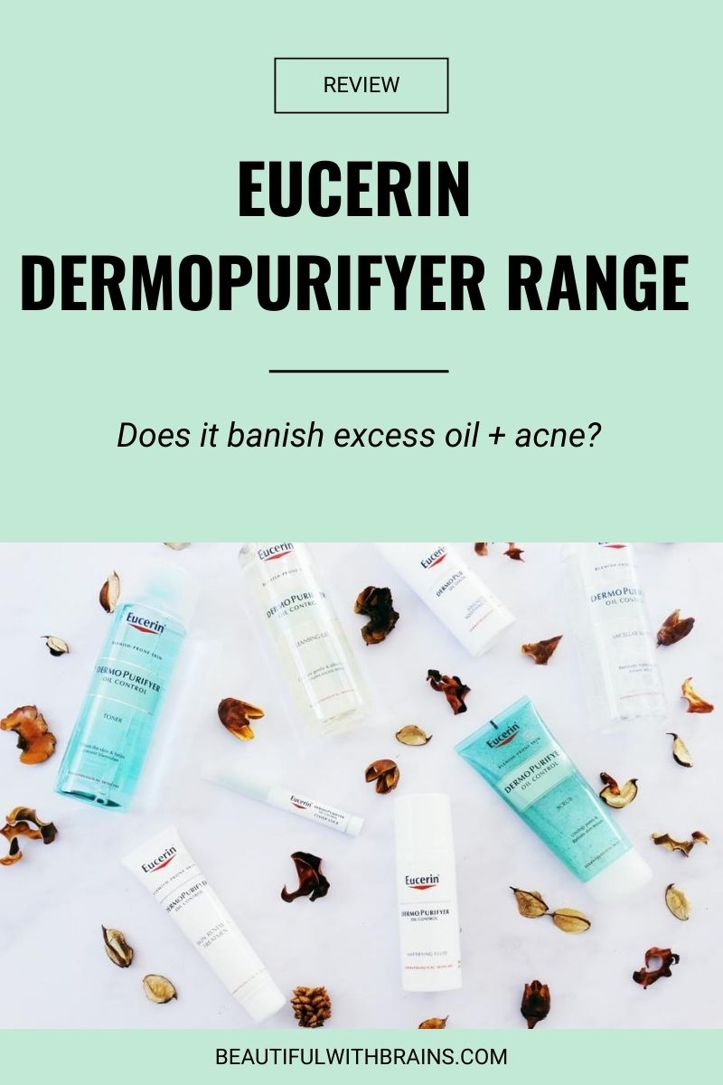 Eucerin DermoPurifyer harnesses the power of exfoliating acids to clear up blemishes and preventing them from coming back. Does it work? #skincare #oilyskin #exfoliation