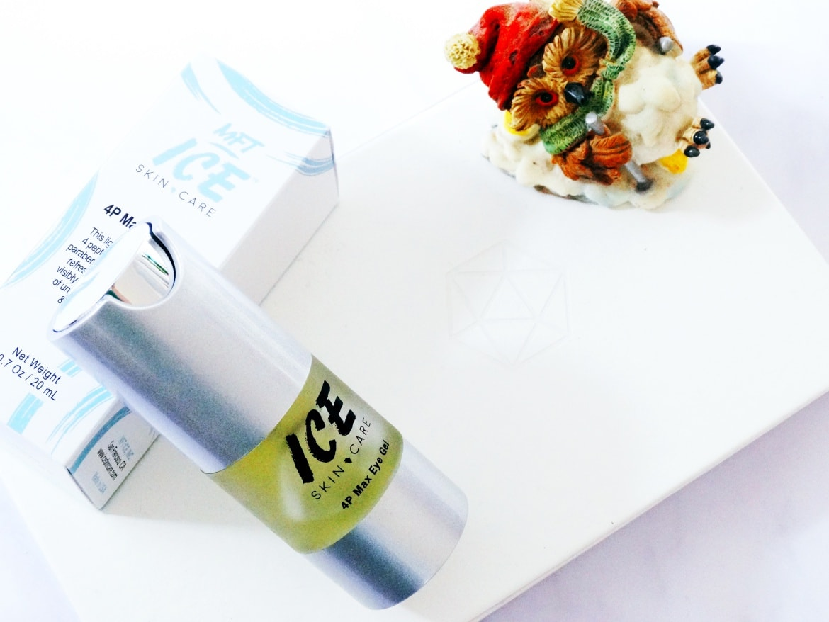 ice skincare 4p max eye gel