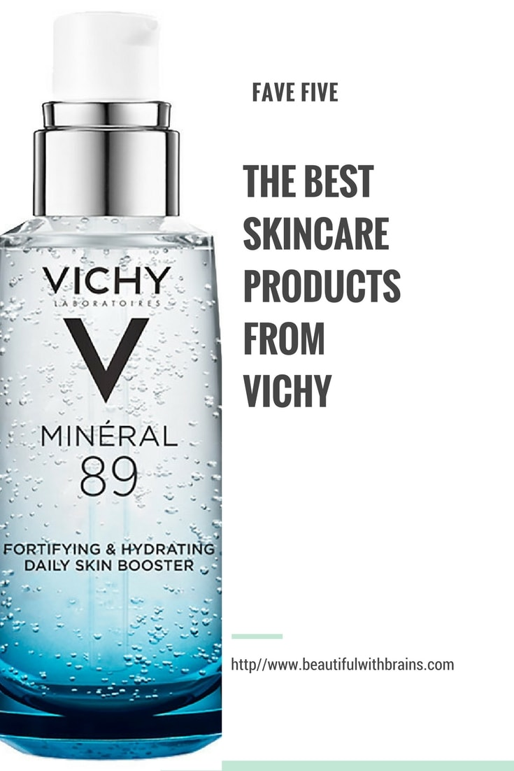 best skincare products from vichy